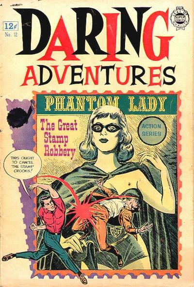 Cover for Daring Adventures (I. W. Publishing; Super Comics, 1963 series) #12