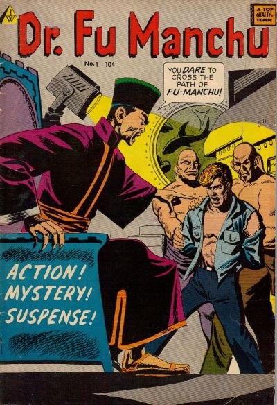 Cover for Dr. Fu Manchu (I. W. Publishing; Super Comics, 1958 series) #1