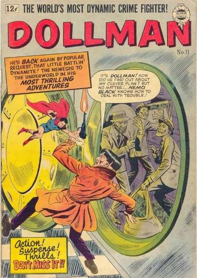 Cover for Doll Man (I. W. Publishing; Super Comics, 1963 series) #11