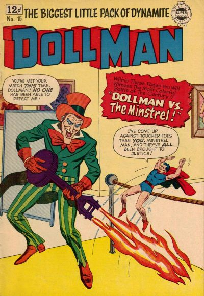 Cover for Doll Man (I. W. Publishing; Super Comics, 1963 series) #15