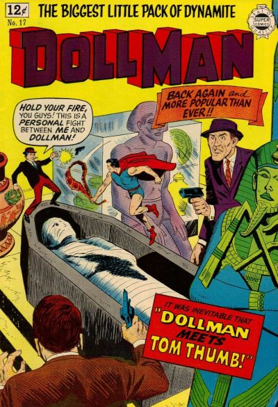Cover for Doll Man (I. W. Publishing; Super Comics, 1963 series) #17