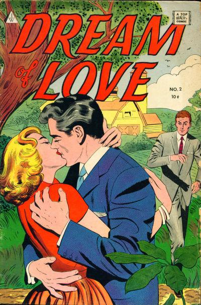 Cover for Dream of Love (I. W. Publishing; Super Comics, 1958 series) #2