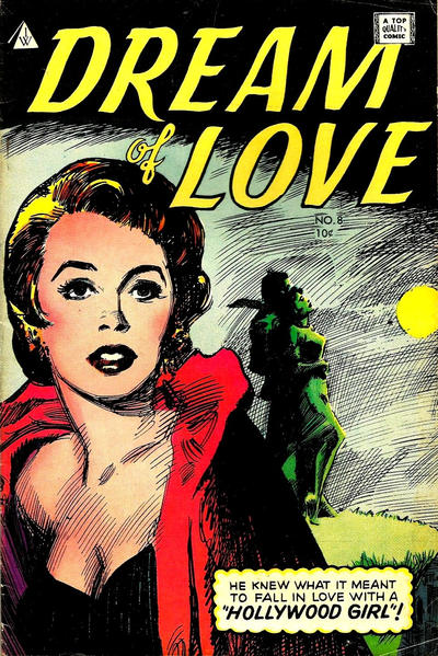 Cover for Dream of Love (I. W. Publishing; Super Comics, 1958 series) #8