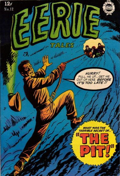 Cover for Eerie Tales (I. W. Publishing; Super Comics, 1963 series) #12
