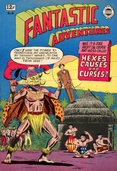 Cover for Fantastic Adventures (I. W. Publishing; Super Comics, 1963 series) #16