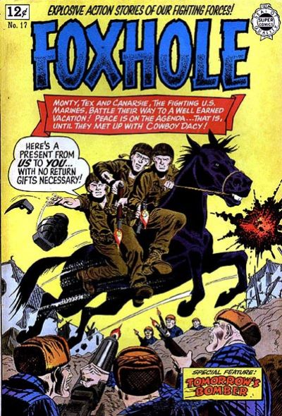 Cover for Foxhole (I. W. Publishing; Super Comics, 1963 series) #17