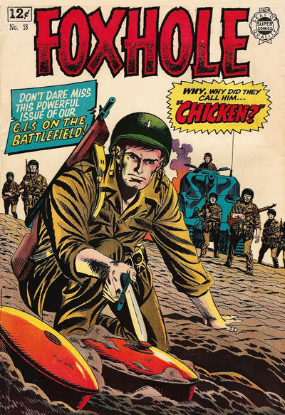Cover for Foxhole (I. W. Publishing; Super Comics, 1963 series) #18