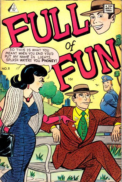 Cover for Full of Fun (I. W. Publishing; Super Comics, 1958 series) #8