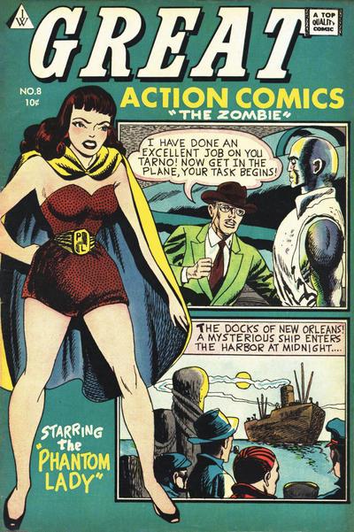 Cover for Great Action Comics (I. W. Publishing; Super Comics, 1958 series) #8