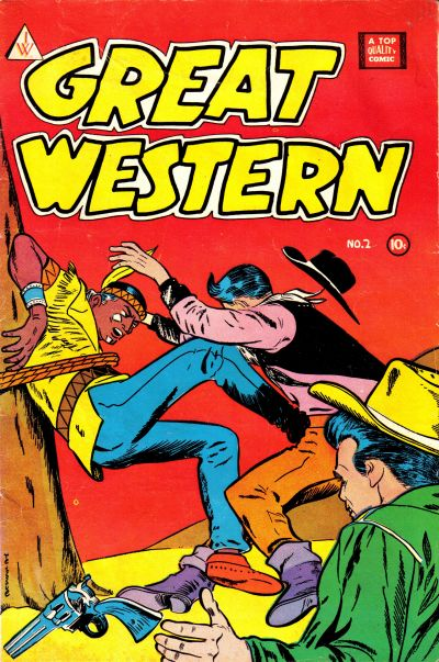 Cover for Great Western (I. W. Publishing; Super Comics, 1958 series) #2