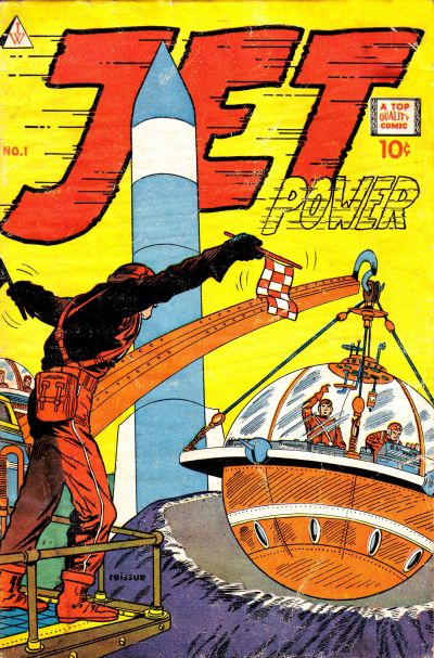 Cover for Jet Power (I. W. Publishing; Super Comics, 1958 series) #1