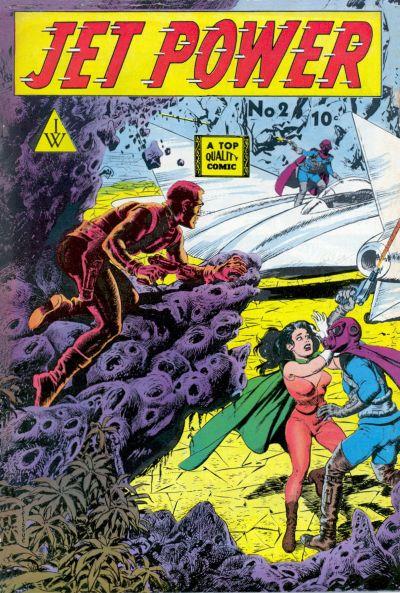 Cover for Jet Power (I. W. Publishing; Super Comics, 1958 series) #2