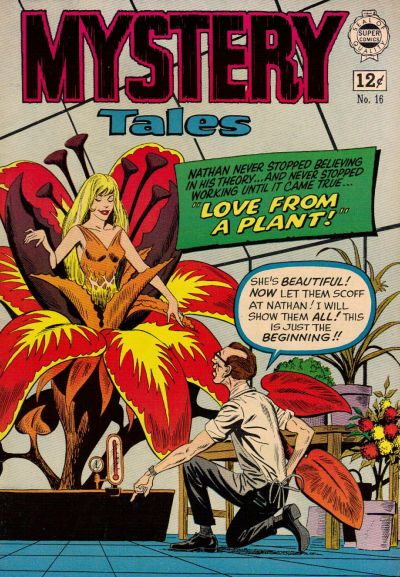 Cover for Mystery Tales (I. W. Publishing; Super Comics, 1964 series) #16