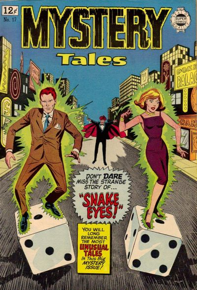 Cover for Mystery Tales (I. W. Publishing; Super Comics, 1964 series) #17