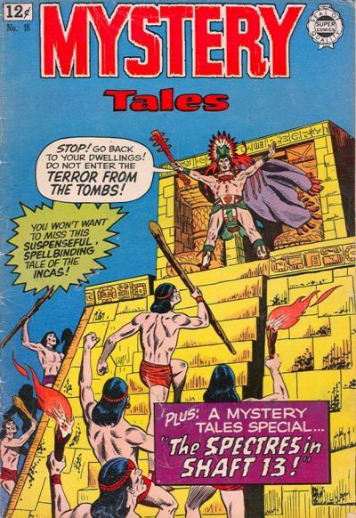 Cover for Mystery Tales (I. W. Publishing; Super Comics, 1964 series) #18