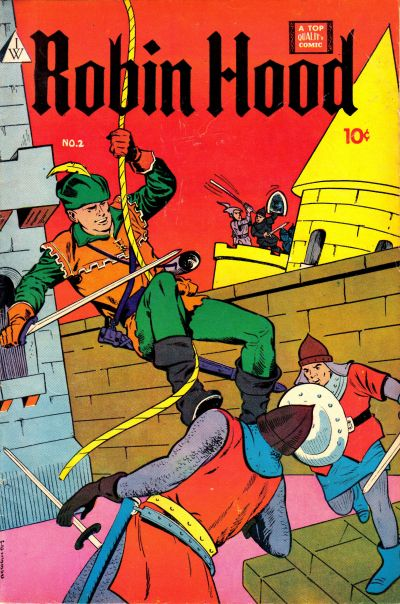 Cover for Robin Hood (I. W. Publishing; Super Comics, 1958 series) #2