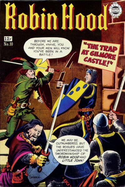 Cover for Robin Hood (I. W. Publishing; Super Comics, 1958 series) #10