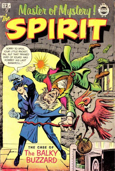 Cover for Spirit (I. W. Publishing; Super Comics, 1963 series) #11