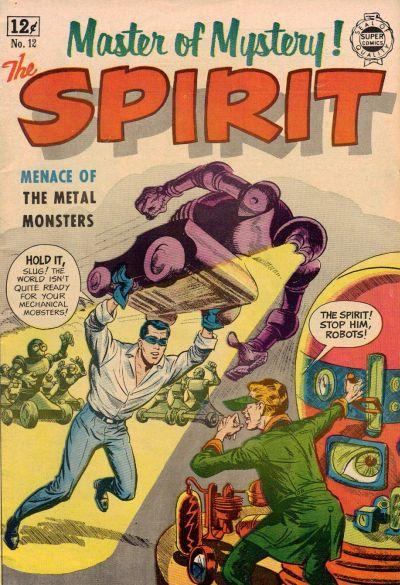 Cover for Spirit (I. W. Publishing; Super Comics, 1963 series) #12