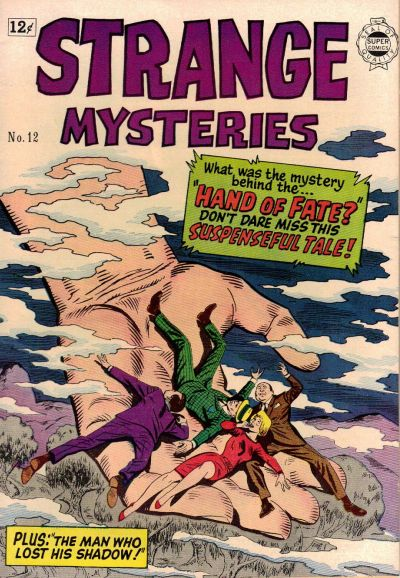Cover for Strange Mysteries (I. W. Publishing; Super Comics, 1958 series) #12