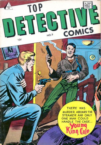 Cover for Top Detective Comics (I. W. Publishing; Super Comics, 1958 series) #9