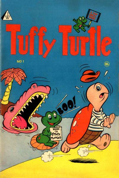 Cover for Tuffy Turtle (I. W. Publishing; Super Comics, 1958 series) #1