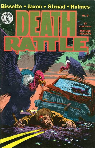 Cover for Death Rattle (Kitchen Sink Press, 1985 series) #6