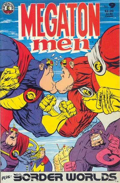 Cover for Megaton Man (Kitchen Sink Press, 1984 series) #9