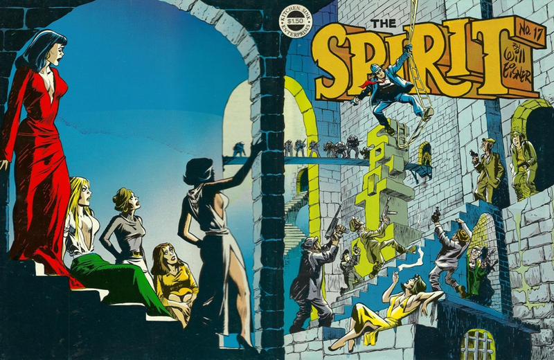 Cover for The Spirit (Kitchen Sink Press, 1977 series) #17