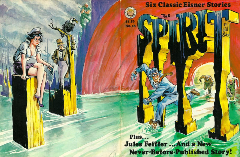 Cover for The Spirit (Kitchen Sink Press, 1977 series) #18