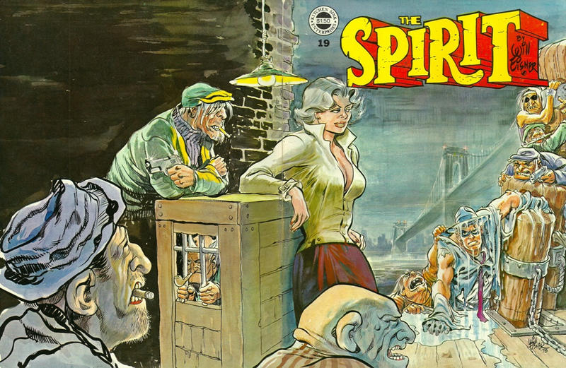 Cover for The Spirit (Kitchen Sink Press, 1977 series) #19