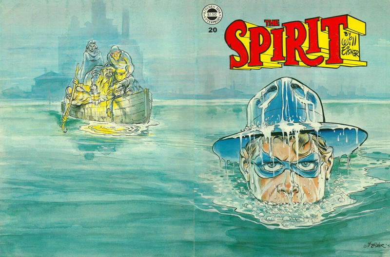 Cover for The Spirit (Kitchen Sink Press, 1977 series) #20