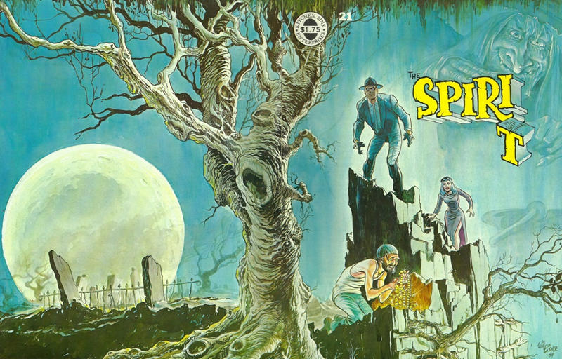 Cover for The Spirit (Kitchen Sink Press, 1977 series) #21
