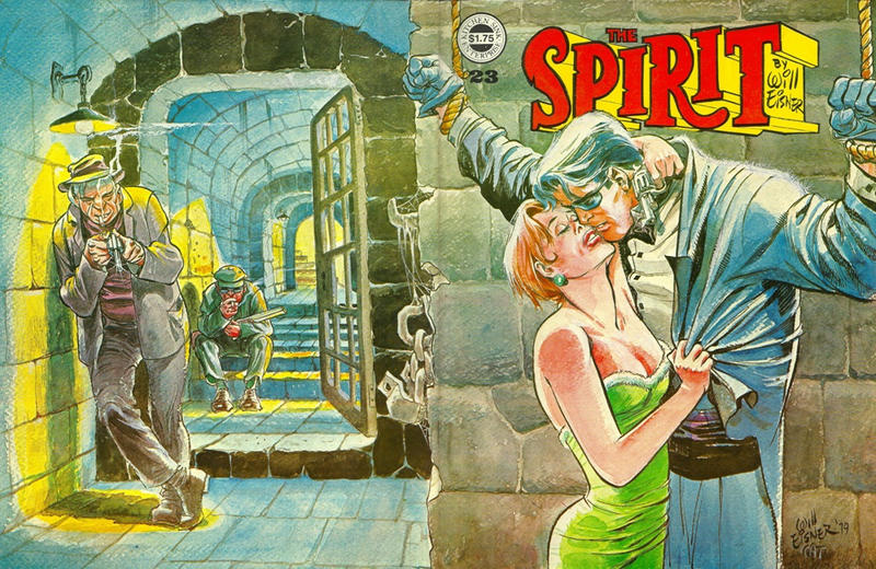 Cover for The Spirit (Kitchen Sink Press, 1977 series) #23