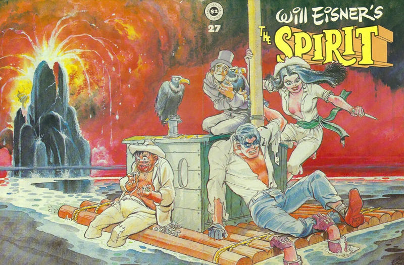 Cover for The Spirit (Kitchen Sink Press, 1977 series) #27