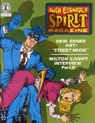 Cover for The Spirit (Kitchen Sink Press, 1977 series) #35