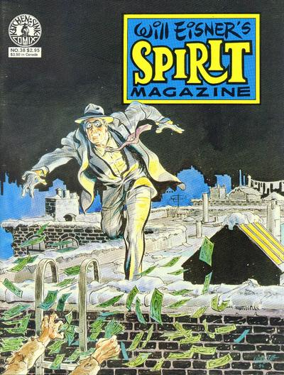 Cover for The Spirit (Kitchen Sink Press, 1977 series) #38
