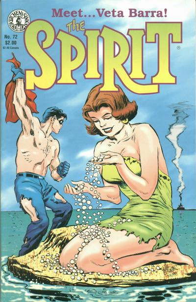 Cover for The Spirit (Kitchen Sink Press, 1983 series) #72