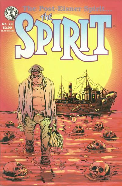 Cover for The Spirit (Kitchen Sink Press, 1983 series) #73