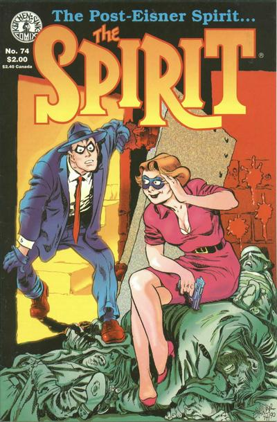 Cover for The Spirit (Kitchen Sink Press, 1983 series) #74
