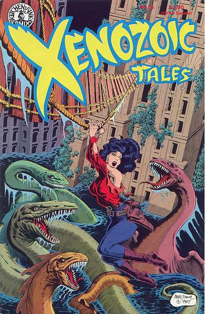 Cover for Xenozoic Tales (Kitchen Sink Press, 1987 series) #4