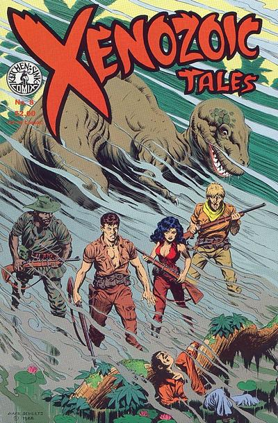 Cover for Xenozoic Tales (Kitchen Sink Press, 1987 series) #8