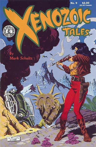 Cover for Xenozoic Tales (Kitchen Sink Press, 1987 series) #9
