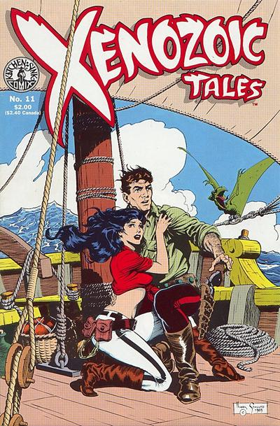 Cover for Xenozoic Tales (Kitchen Sink Press, 1987 series) #11