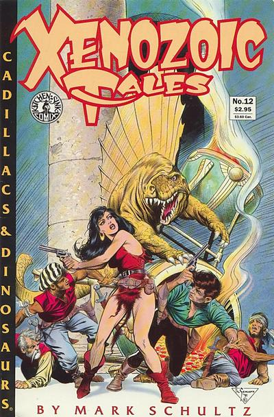 Cover for Xenozoic Tales (Kitchen Sink Press, 1987 series) #12