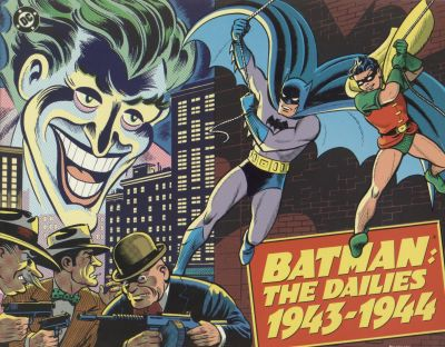 Cover for Batman: The Dailies (Kitchen Sink Press; DC, 1990 series) #1