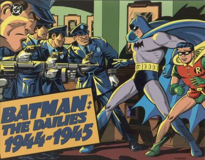 Cover for Batman: The Dailies (Kitchen Sink Press; DC, 1990 series) #2