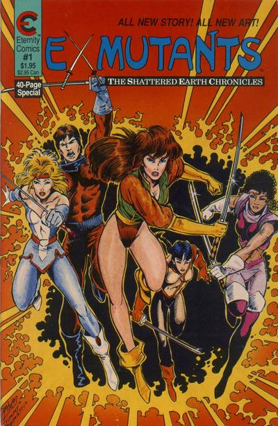 Cover for Ex-Mutants The Shattered Earth Chronicles (Malibu, 1988 series) #1