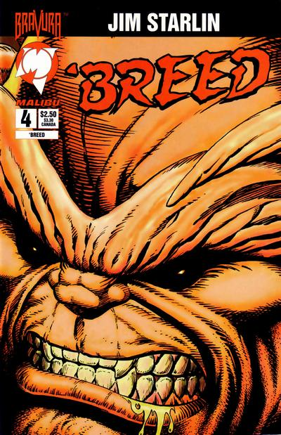 Cover for 'Breed (Malibu, 1994 series) #4