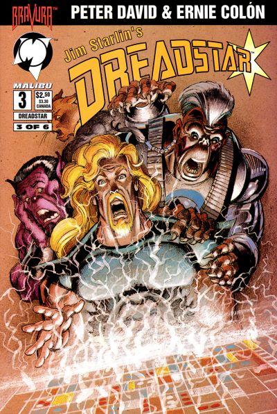 Cover for Dreadstar (Malibu, 1994 series) #3